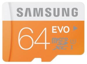 vediqui Samsung Scheda Memoria Micro SD 64GB