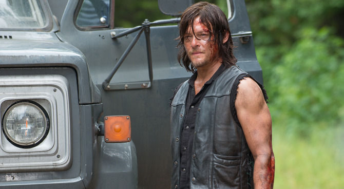 The Walking Dead morte di daryl